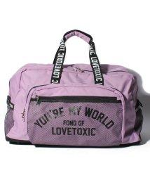Lovetoxic/メッシュボストンバッグ/501258312