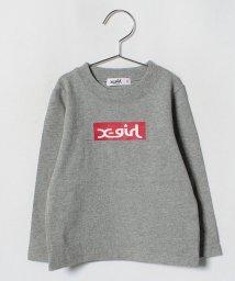 X-girl Stages/ボックスロゴTシャツ/501258322