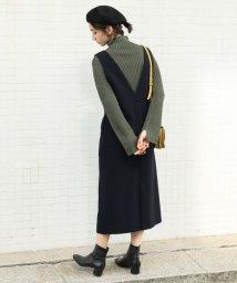 BEAUTY&YOUTH UNITED ARROWS/BY∴ フロントボタンジャンパースカート/501270526
