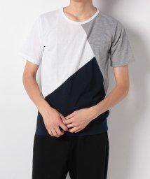 Collective/パターン切り替えTシャツ/501251435