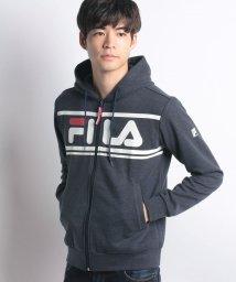 FILA/FILA胸プリントロゴスウェットパーカー/501255008
