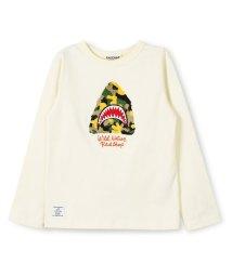 RADCHAP/カモフラシャーク長袖Tシャツ/501269923