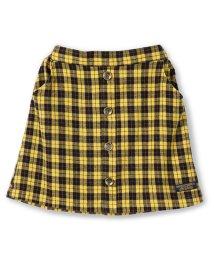 RADCHAP/フロントボタンチェック柄スカート/501269927