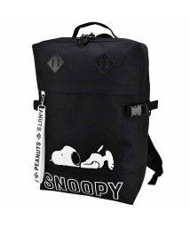 RUNNER/SNOOPY[スヌーピー]サガラ刺繍ねそべりスヌーピースクエアリュック/501273164