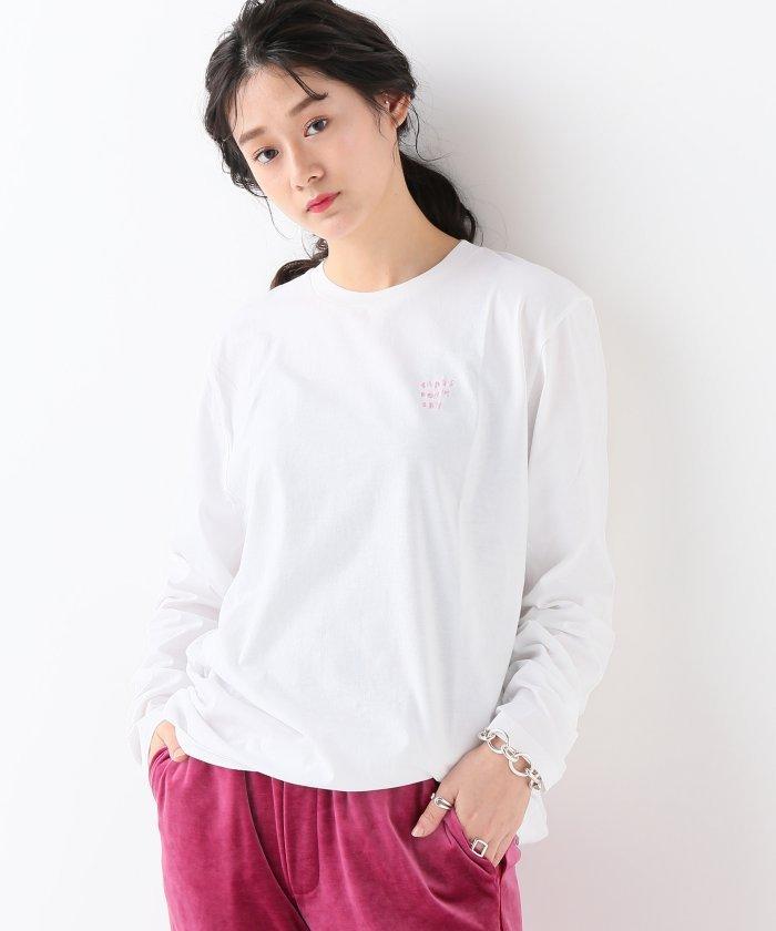 ジャーナルスタンダード長袖TシャツレディースピンクM【JOURNAL STANDARD】