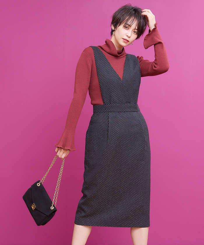 刺子ドビージャンパースカート
