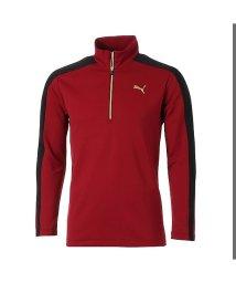 PUMA/プーマ/メンズ/ゴルフ TB ハーフジップシャツ/501275185
