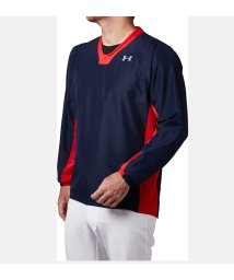 UNDER ARMOUR/アンダーアーマー/メンズ/18F UA 9 STRONG DL VNECK WOVEN/501275221