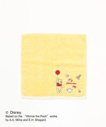 Afternoon Tea LIVING/ディズニーコレクション・Winnie the Pooh/ジャカードミニタオル/501257663