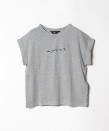 To b. by agnes b./W984 TS メッセージTシャツ/501260071