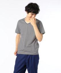 GLOSTER/シルケットTシャツ/501263537