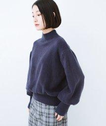 haco!/肌見せせずとも華奢見えできる ぷっくり袖のショートニット/501269692