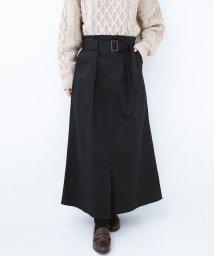 haco!/ちょうどいい女っぽ感 下半身をすらっと見せるスリットロングスカート/501269699