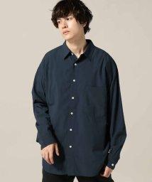 JOINT WORKS/コットンレーヨンワイドシャツ/501280096