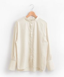 le.coeur blanc/スタンドカラーロングカフスヒヨクシャツ/501126209