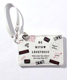 Lovetoxic/総柄パスケース/501200153