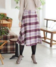 PROPORTION BODY DRESSING/【美人百花 11月号掲載】◆シャギータータンチェックスカート/501229979
