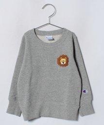 LAGOM/<Champion別注>ライオン刺繍トレーナー/501258093