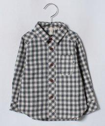LAGOM/ギンガムチェック長袖シャツ/501258099