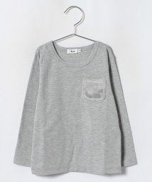 koe kids/ボアポケット付長袖Tシャツ/501271381