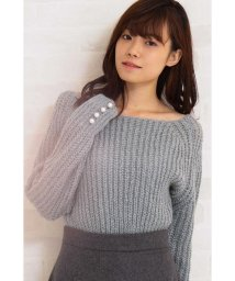 PROPORTION BODY DRESSING/袖パールメランジニット/501275784