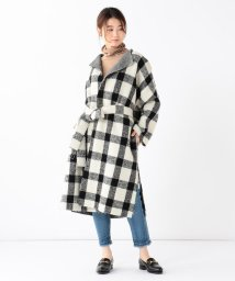 BEAMS OUTLET/Demi-Luxe BEAMS / ボリューム チェックコート/501281024