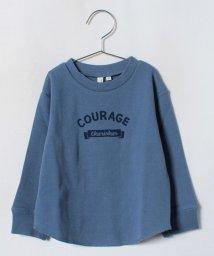 LAGOM/ワッフルロゴプリントTシャツ/501258096