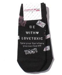 Lovetoxic/総柄スニーカーSOX/501267447