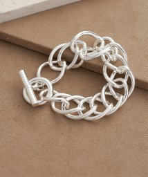 nano・universe/on the sunny side of the street/Large dbl Curb Chain Bracelet/501271268