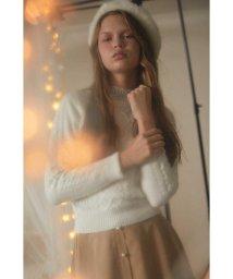 PROPORTION BODY DRESSING/《EDIT COLOGNE》ケーブルニットプルオーバー/501275790