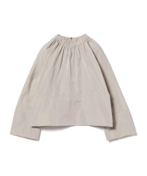 BEAMS OUTLET/Demi-Luxe BEAMS / ギャザーネック タフタプルオーバー/501230671