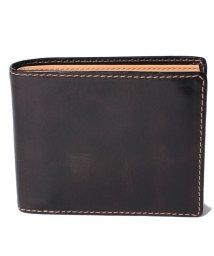 HIDEO WAKAMATSU/【HIDEO WAKAMATSU】 セイントII 牛革 二つ折り 財布/501235353