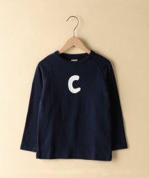 coen/【coen キッズ / ジュニア】クルーネック長袖カットソー (100~150cm)/501252722