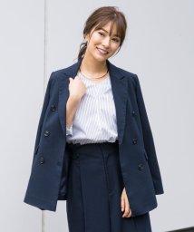 TONAL/【セットアップ対応商品】カルゼピークドダブルジャケット/501268542