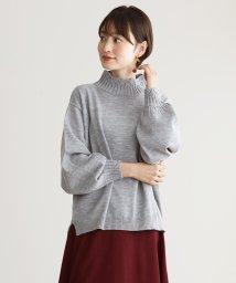 HAPPY EXP/デザインハイネック セーター/501281651