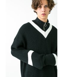 monkey time/<monkey time> PE AZE BIG TILDEN KNIT/ニット/501281722