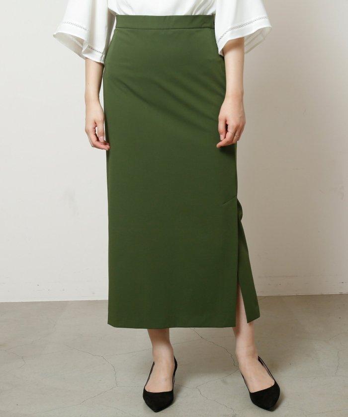 2WAYギャバタイトミディスカート