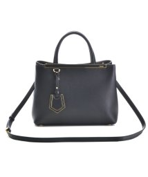 FENDI/【FENDI】2 JOUR / 2WAY BAG 【BLACK+COAL】/501283685
