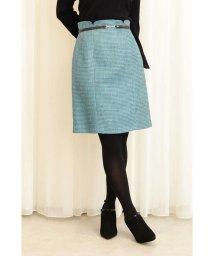 PROPORTION BODY DRESSING/ベルト付きモールプリペラタイトスカート/501197194