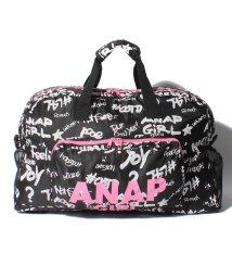 ANAP GiRL/柄ボストンバッグ/501272137