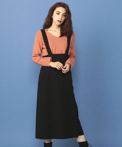 MIIA(ミーア)/スカラップジャンパースカート/32844011