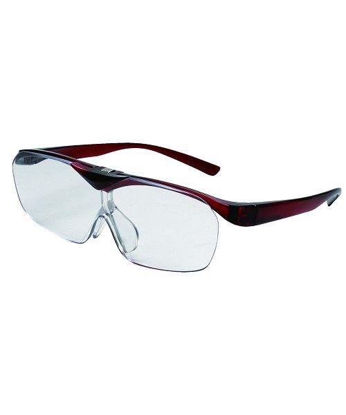 バックヤードファミリー 拡大鏡 ルーペ スマートアイFSL−01眼鏡型はね上げタイプ ユニセックス ワイン はね上げルーペ 【BACKYARD FAMILY】