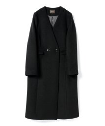 Demi-Luxe BEAMS/Demi-Luxe BEAMS / ノーカラー Vネックコート/501286665