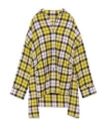 FRAY I.D/オーバーサイズチェックシャツ/501287933
