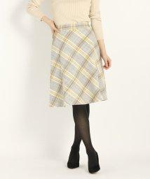 STRAWBERRY FIELDS/ロービングチェック スカート/501253338