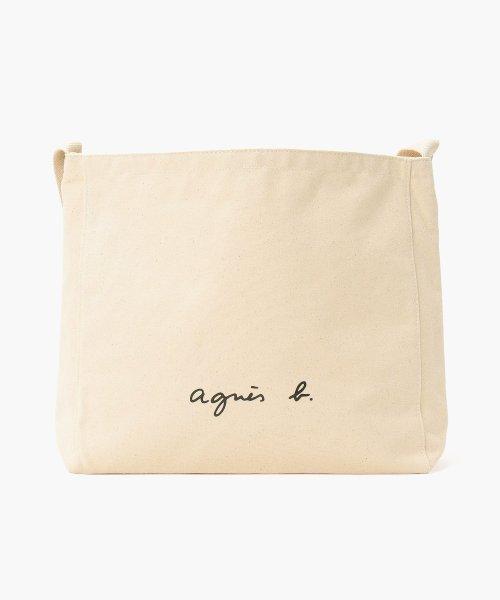 agnes b. Voyage(アニエスベー ボヤージュ)/【WEB限定】GO03‐03 ロゴショルダーバッグ/N249VSA9