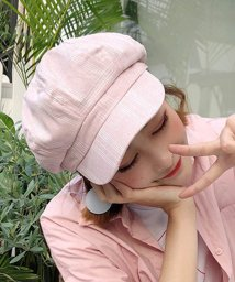 miniministore/キャスケット帽子 レディース 小物 CAP おしゃれ つば付き?マリン帽 チェック柄/501290666