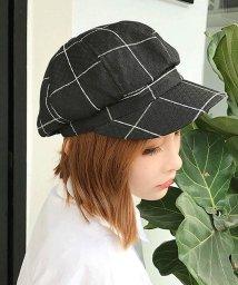 miniministore/キャスケット帽子 レディース 格子チェック柄 CAP 小物 ファッション雑貨 帽子 秋冬/501290667