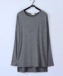 miniministore/tシャツ レディース トップス 長袖 カットソー 体型カバー ビッグtシャツ ロング/501290668