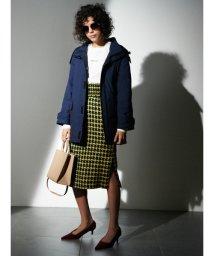 Mila Owen/シャーリングベルト付タイトスカート/501290762